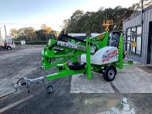 Hire 12m TRAILER MOUNTED BOOM LIFT