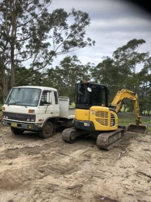 Hire 5 Ton Excavator