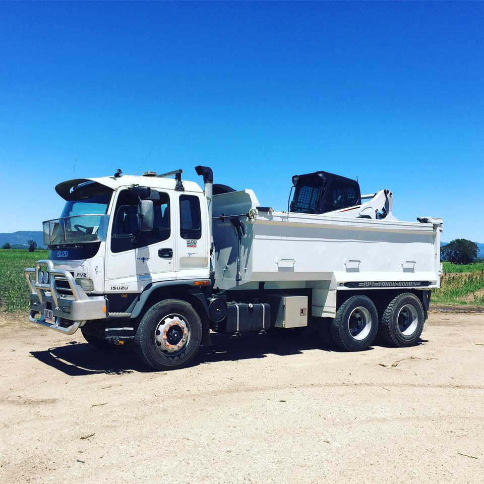 Hire  12 Tonne Tip Truck - Tweed Heads to Gold Coast