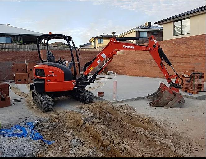 Hire 3.5T Kubota Excavator
