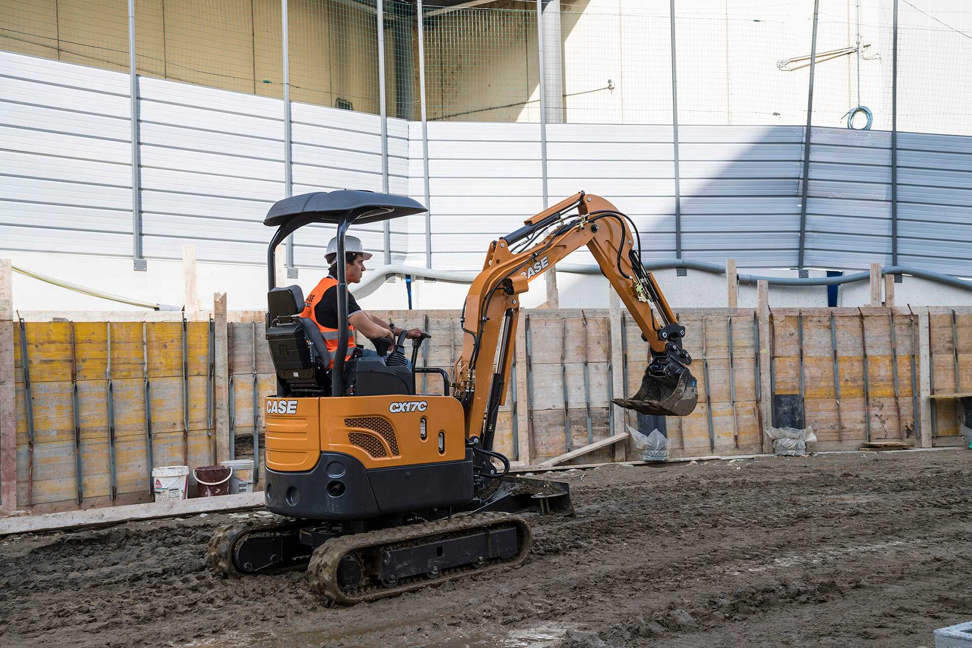 Hire CASE CX17C Excavator (1.7T)