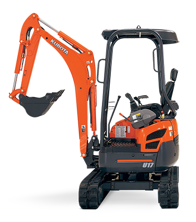 Hire 1.7 Ton Mini excavator