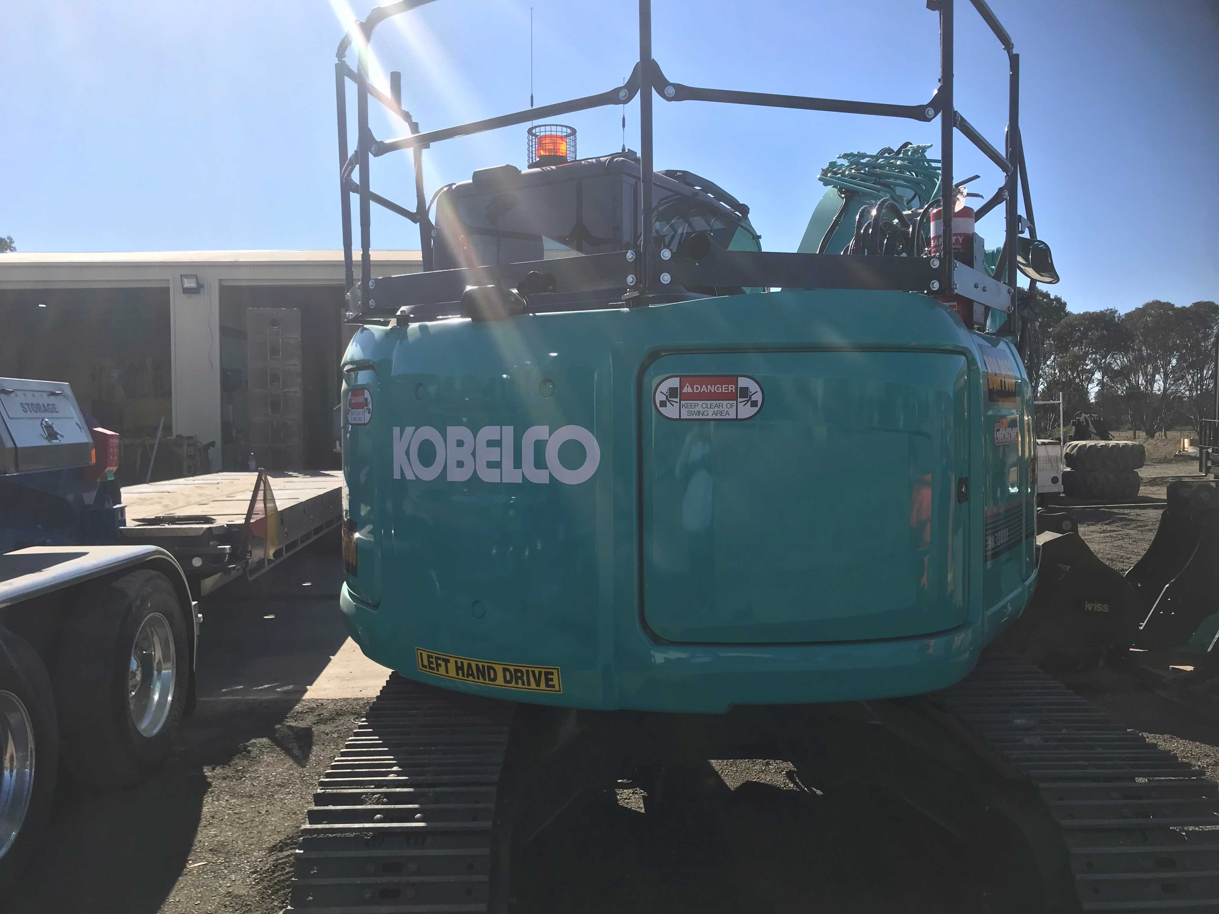 Hire 13t Kobelco Excavator