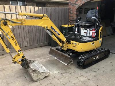 Hire 1.8 Ton Excavator