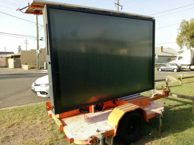 Hire LED VMS Trailor Message Board