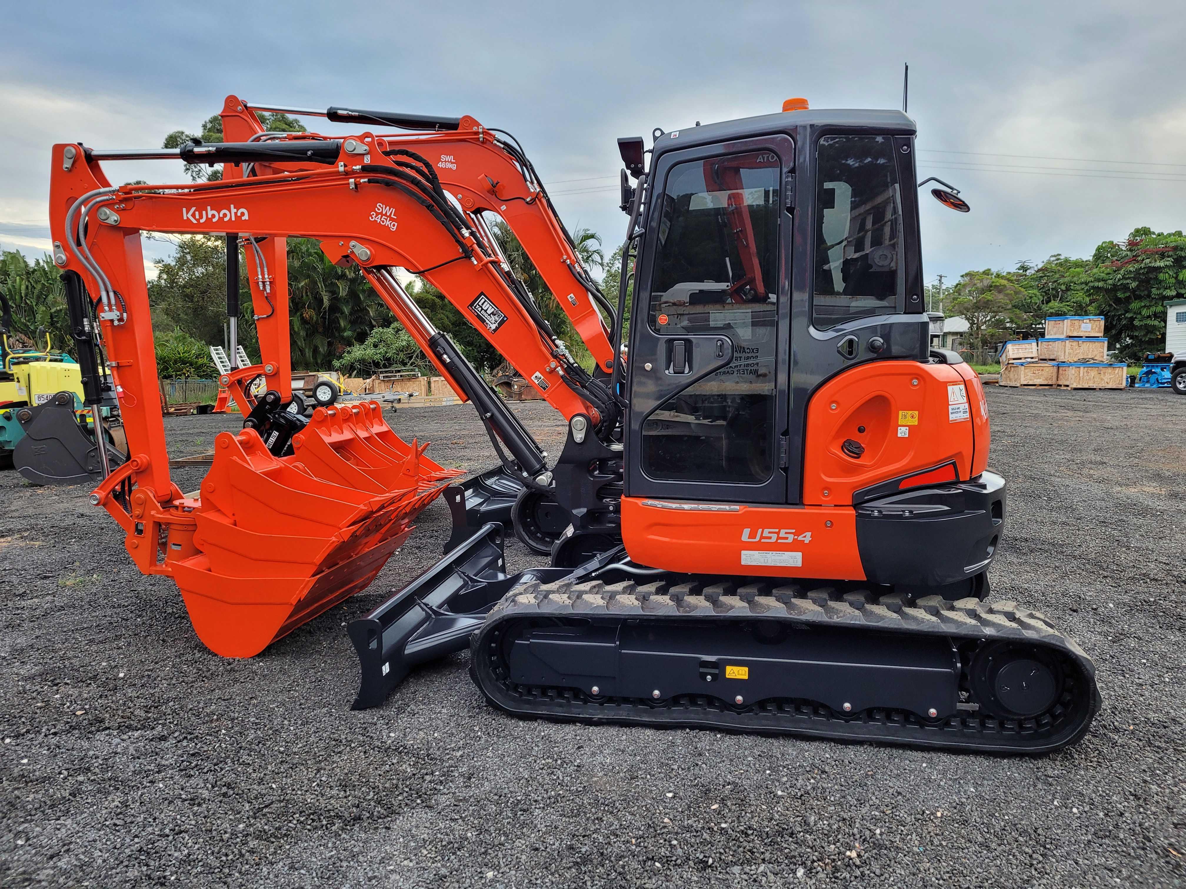 Hire 3.5-5t Tracked Excavators
