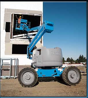 Hire 15.5m Articulated Boom Lift