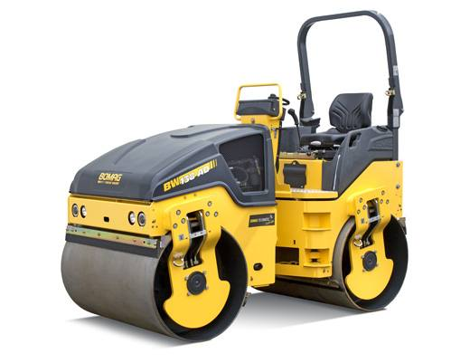Hire 4.7 tonne smooth drum compaction roller