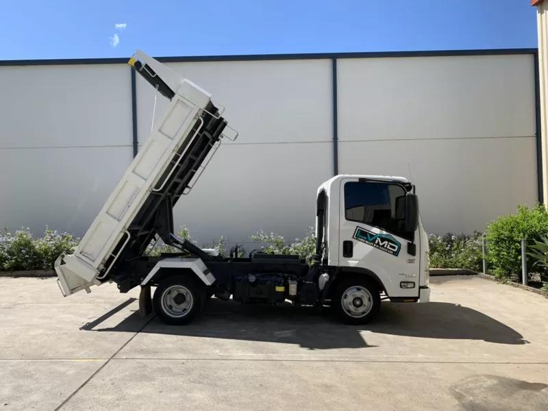 Hire 2 Tonne Isuzu Tip Truck