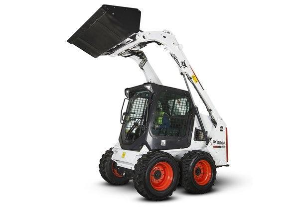 Hire Bobcat 2.5 tonne skid steer loader - 4 in1 bucket & trailer