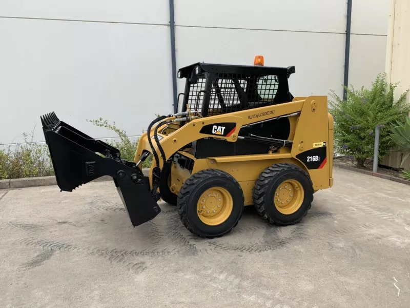 Hire CAT 216B Skid Steer Loader