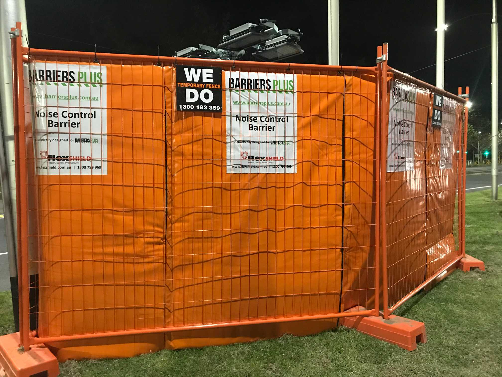 Hire Site Noise control barriers