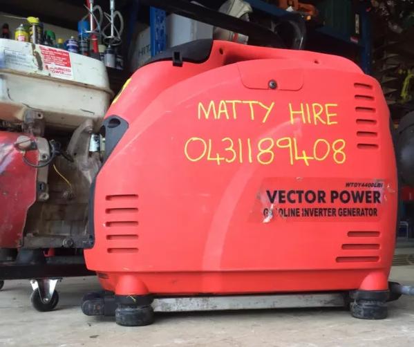 Hire Inverter generator 4400 watts