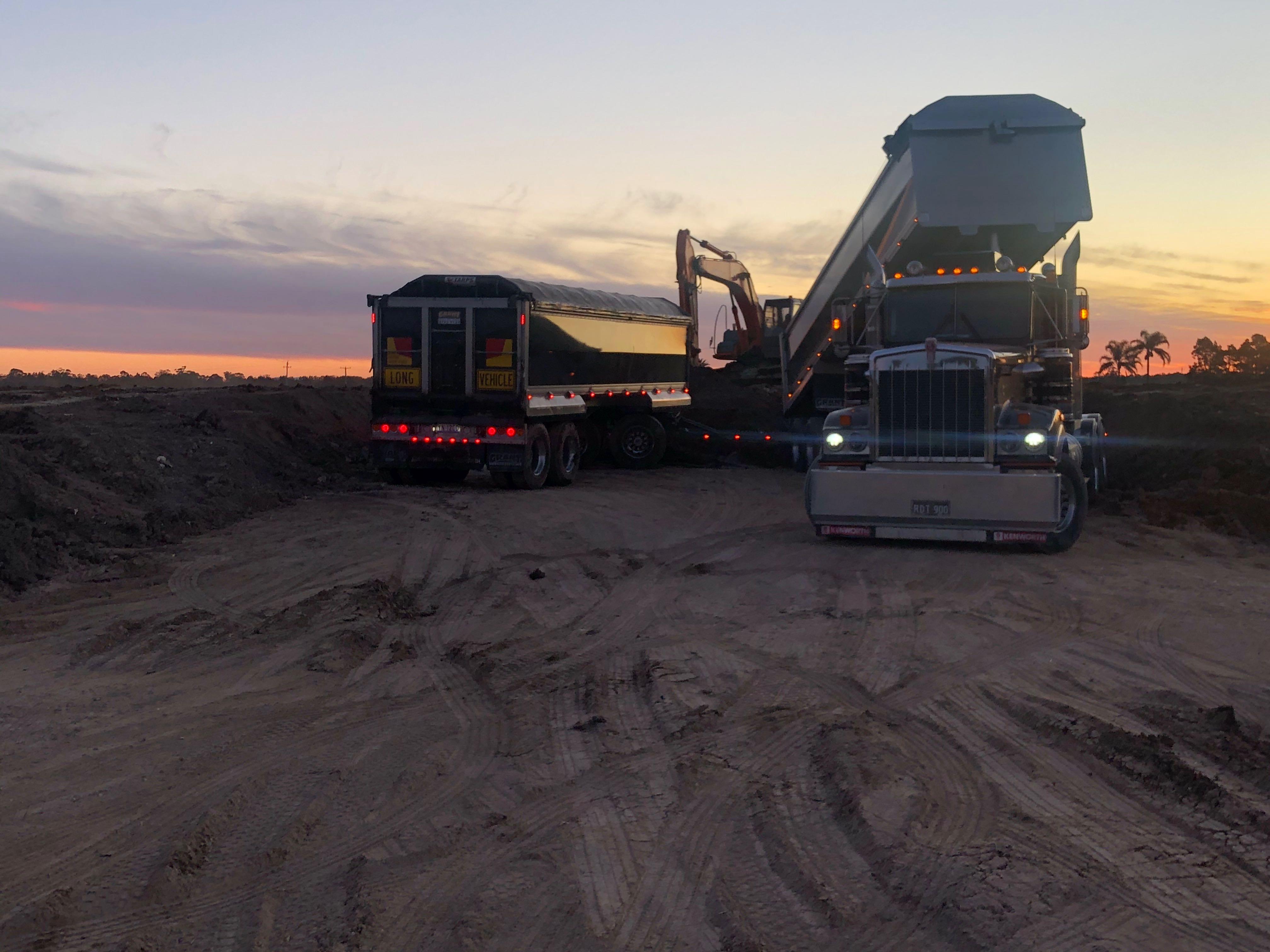 Hire Bulk haulage & quarry products