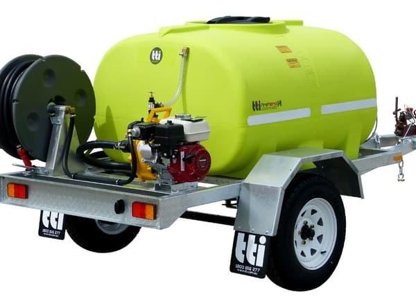 Hire Water Trailer - 800L Tank & Pump