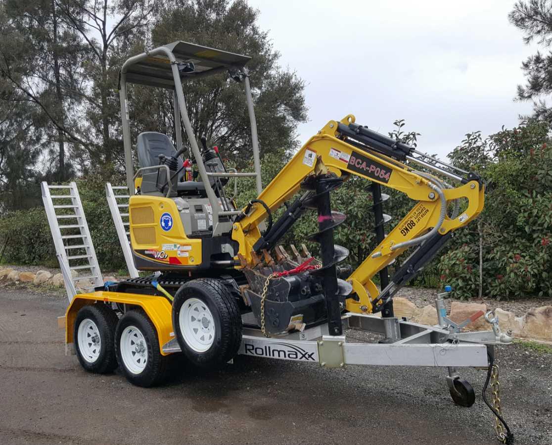 Hire Yanmar Vio17 Mini Excavator