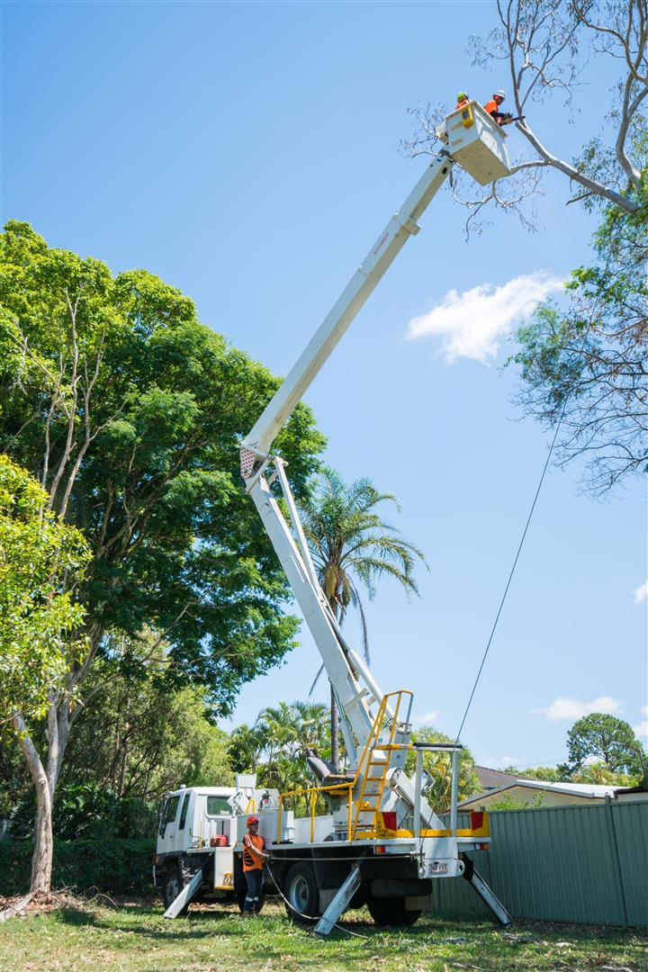 Cherry Picker (EWP) 23m reach for wet/dry hire near Brisbane