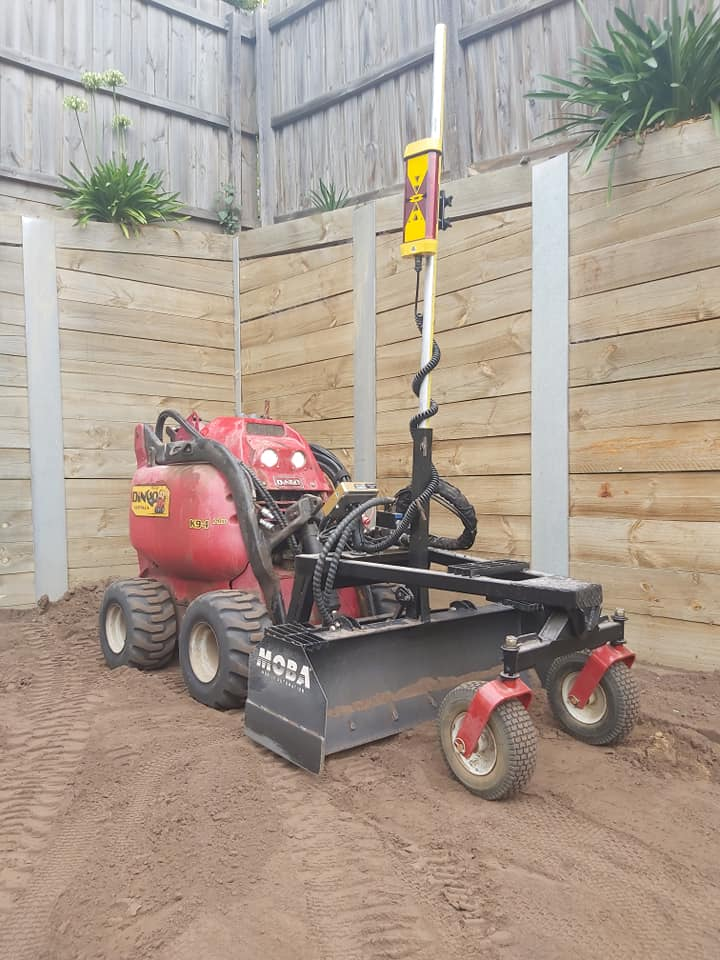 Hire Limited access laser grading