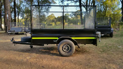 Hire 8x5 Dual Axle Caged Trailer