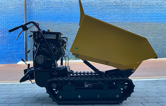 500Kg Track Micro Dumper for dry hire - Karrinyup, Innaloo, Scarborough, Doubleview, Wembley Downs, Woodlands