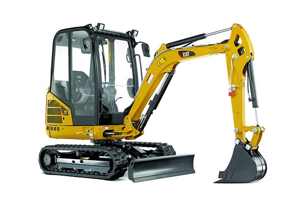 Hire 2.5 tonne mini excavator – 3 buckets & trailer
