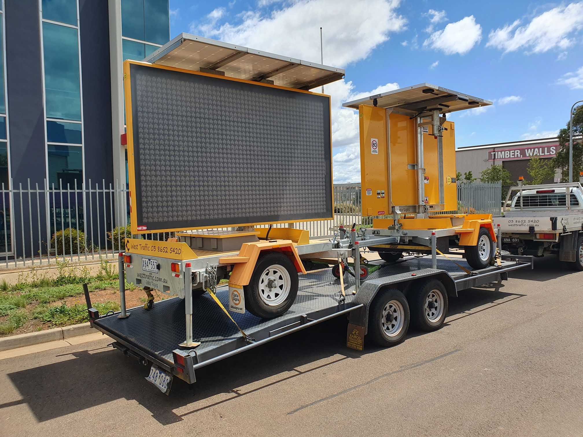 Hire Variable Message Sign (VMS) Trailer