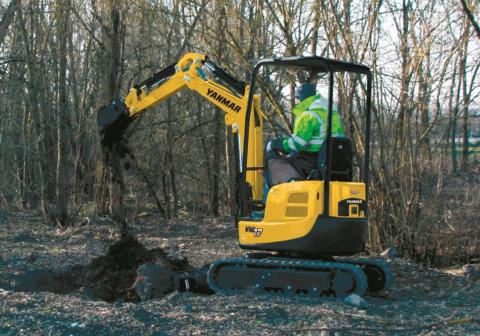 Hire Mini Excavator 1.7T Yanmar