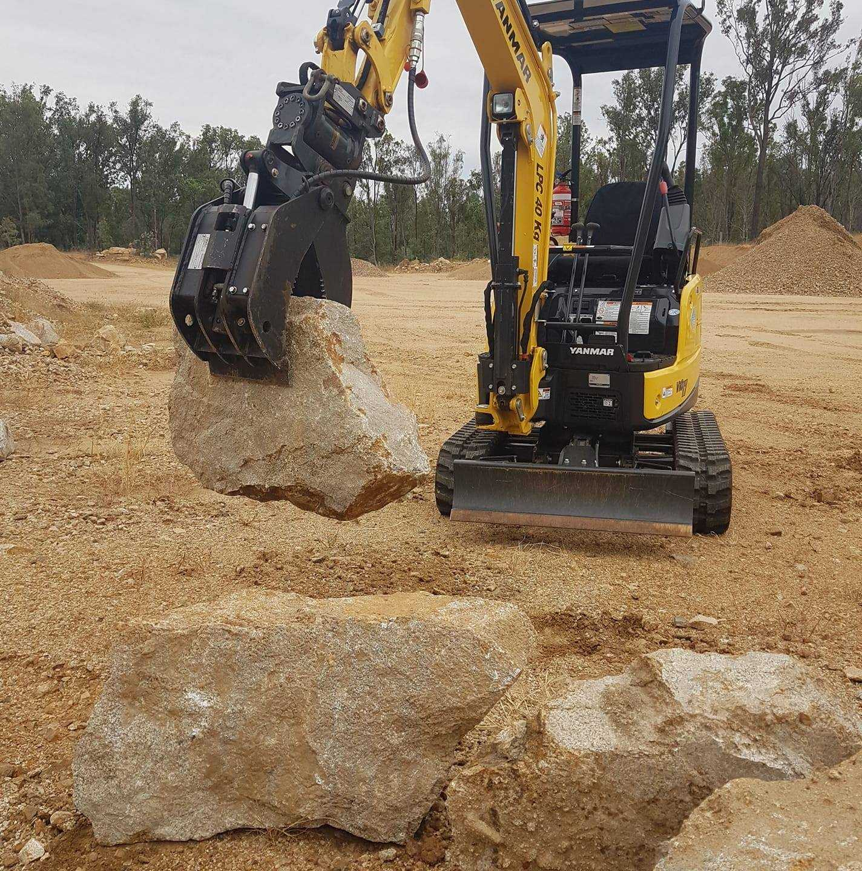Hire 1.7t Yanmar Excavator - Kingaroy & surrounding areas