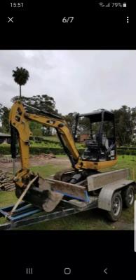 Hire 2.3 Tonne Excavator