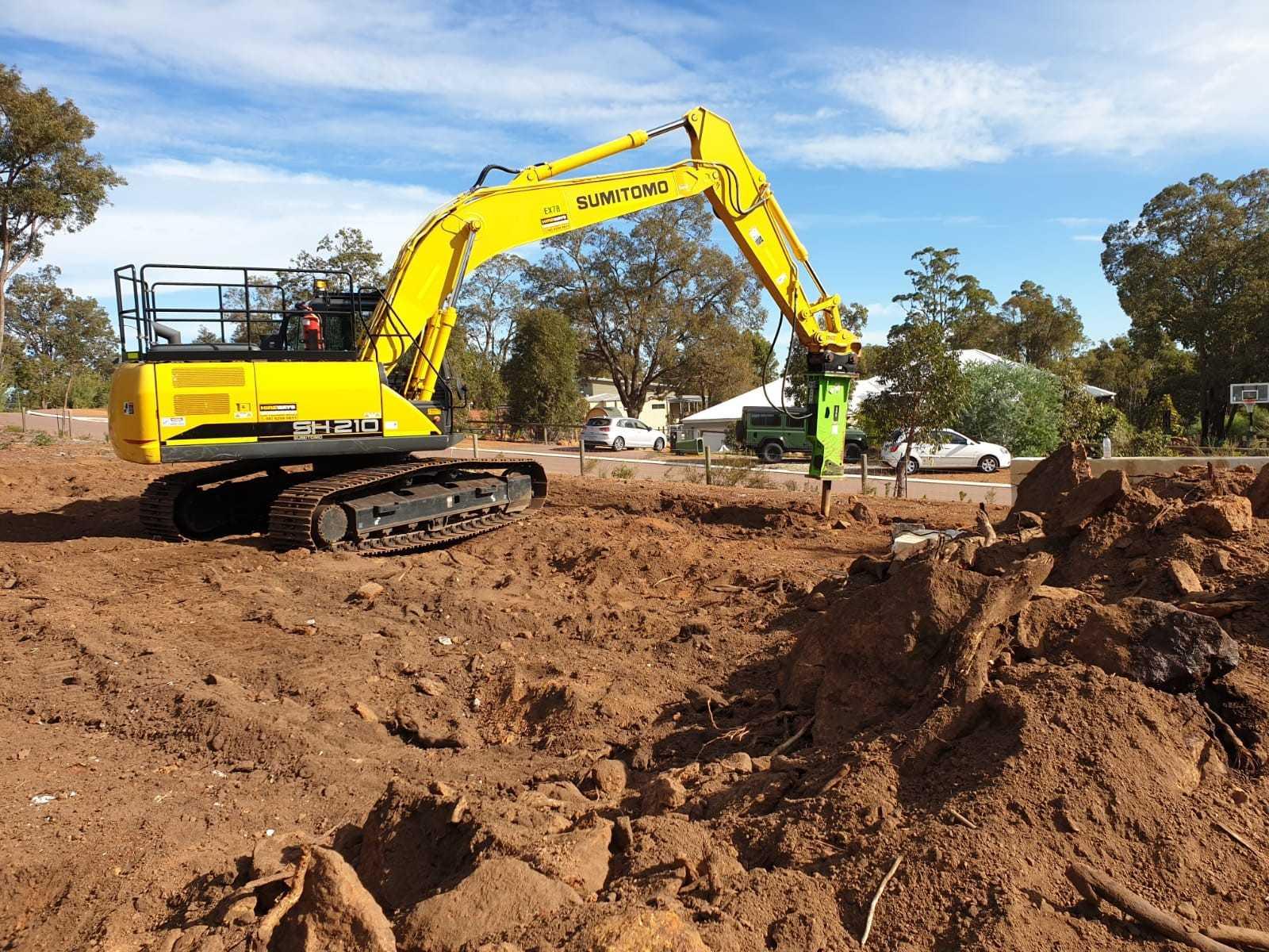 Hire 20 Ton Excavator.