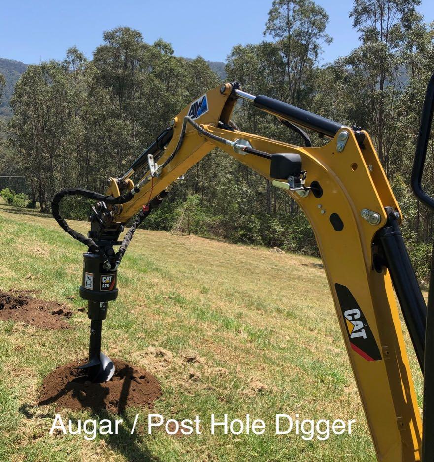 Hire Augar Drive Unit and Drill