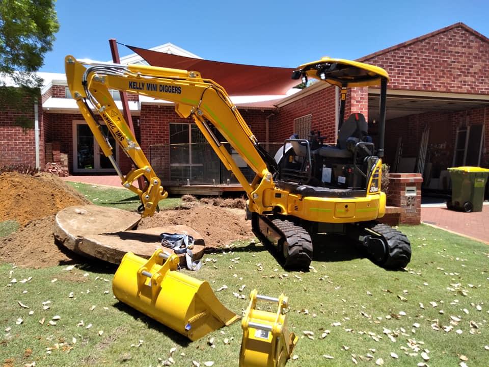 Hire 3 Ton Mini Excavator - Warnbro, Port Kennedy, Baldivis, Mandurah, Lakelands, Golden Bay, Shoalwater, Rockingham, Cooloongup, Wellard, Bertram, Bull Creek