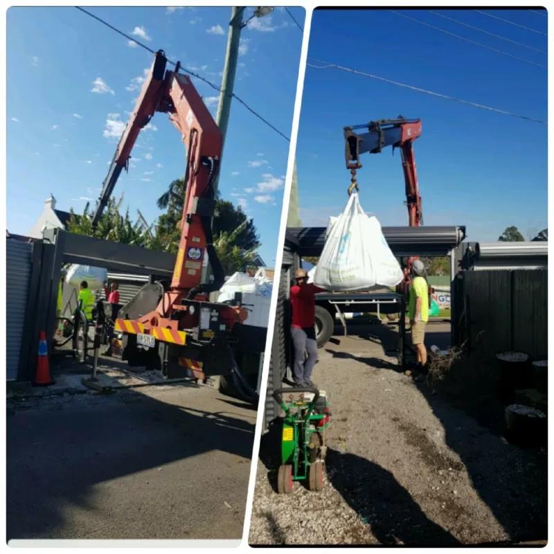 Hire 12T hiab/crane truck