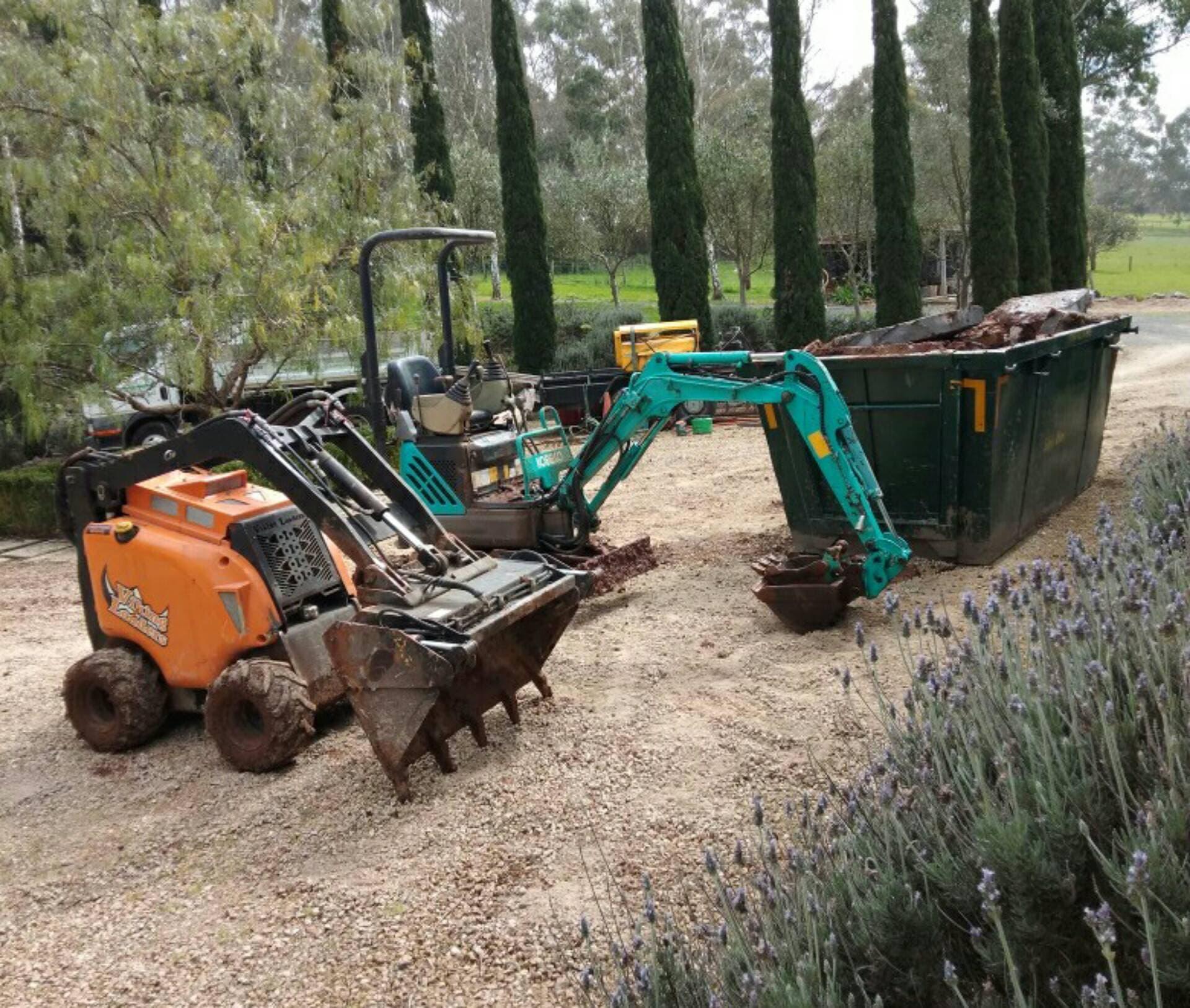 Hire Mini dingo loader & operator