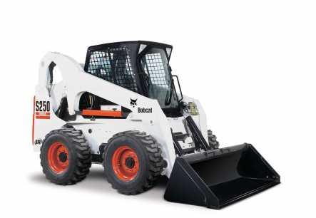 Hire Bobcat 3.5 tonne skid steer loader - 4 in1 bucket