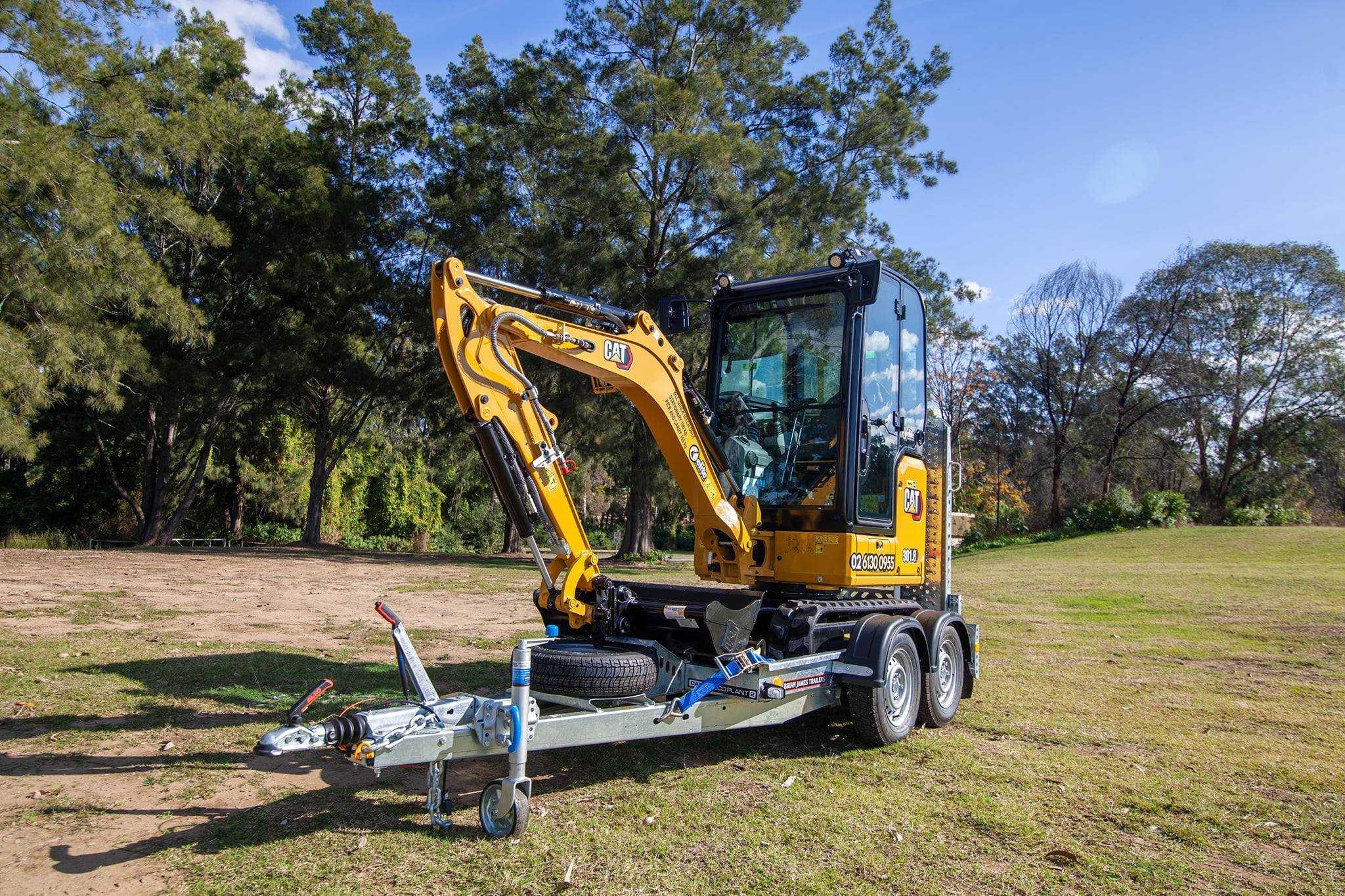 Hire CAT 1.7t Mini Excavator