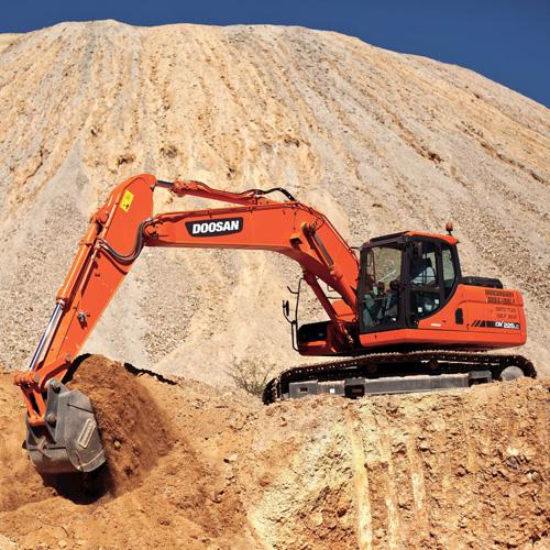 Hire DX225LC Excavator