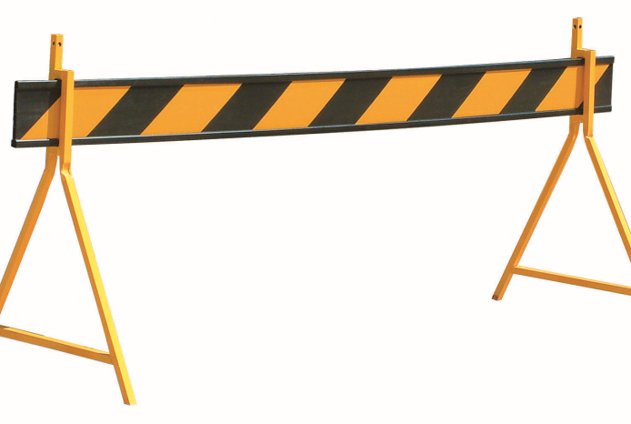 Hire Traffic Barriers 2.4m