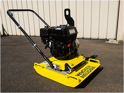 Hire Compaction Plate