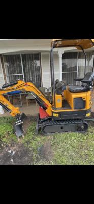 Hire 1.2T Mini Excavator