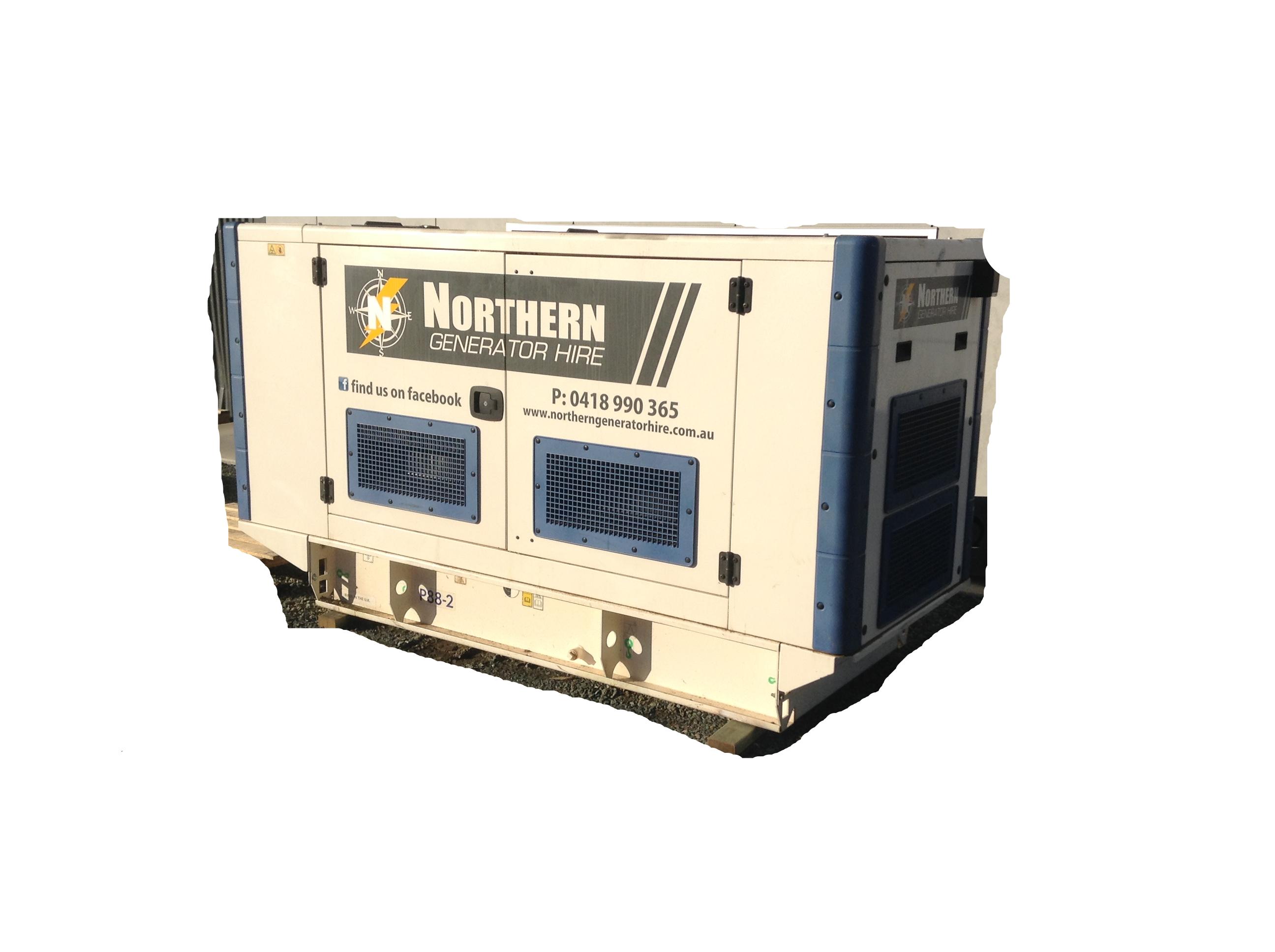 Hire 80kVA Generator