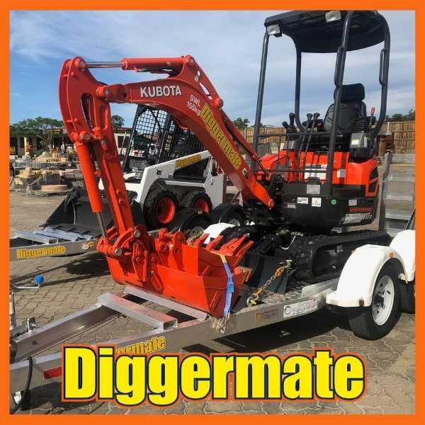 Diggermate Mini Excavator Kubota 1.7 for Dry Hire