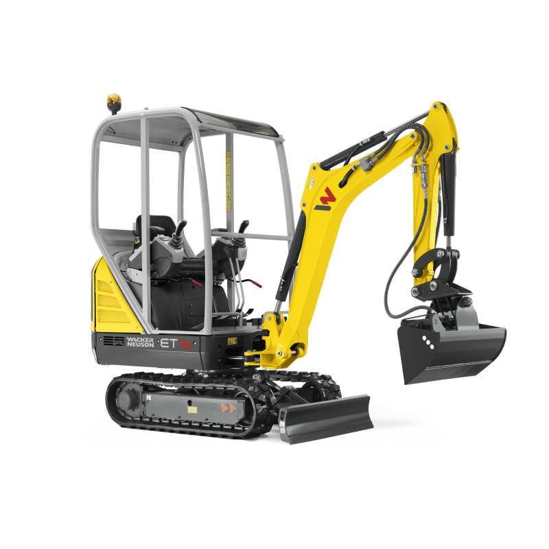 Hire 1.6 tonne Mini Excavator