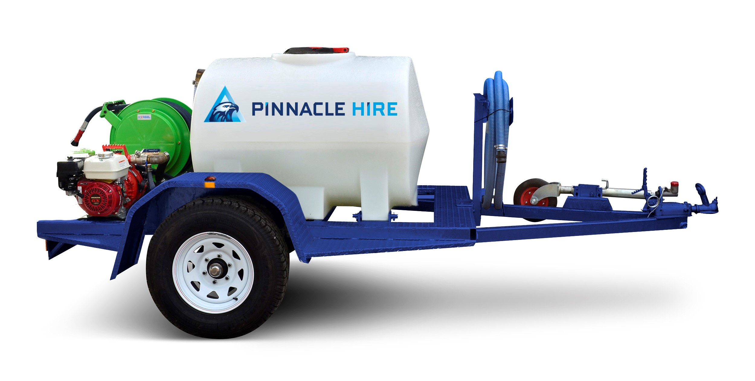 Hire Water Cart Trailer, for Fire Fighting & Dust Suppression