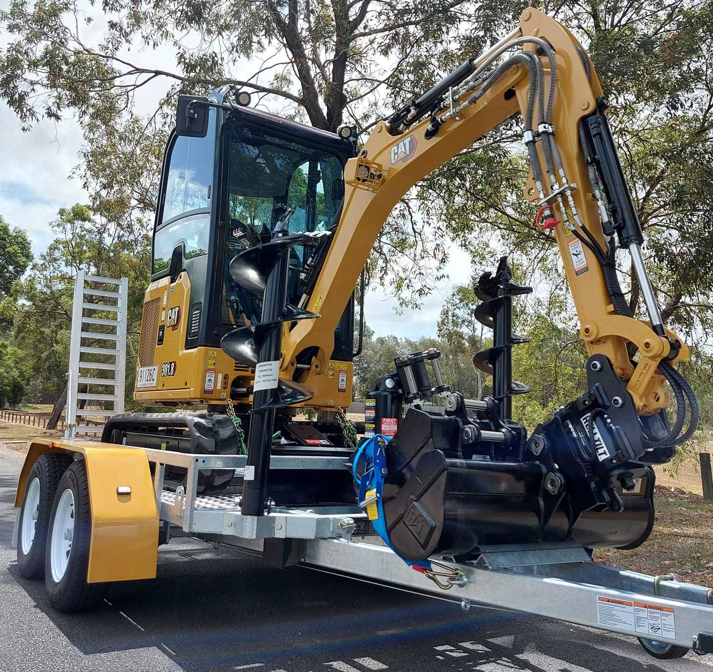 Hire 1.7 Tonne Compact Excavator