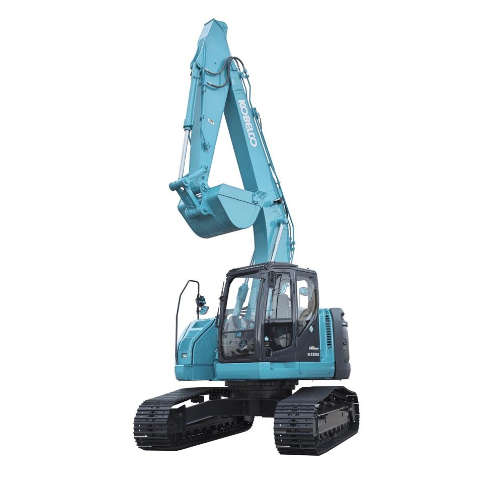Hire 24 tonne site equipped zero swing excavator + buckets