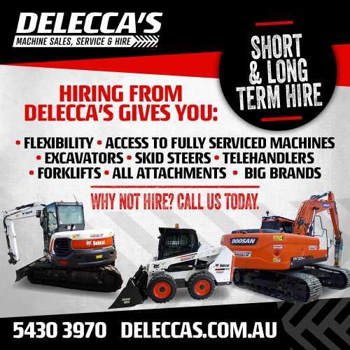 Delecca's Machine Hire