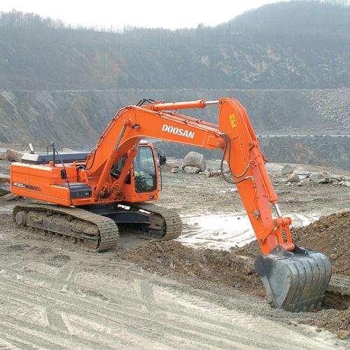 Hire DX300LC Excavator