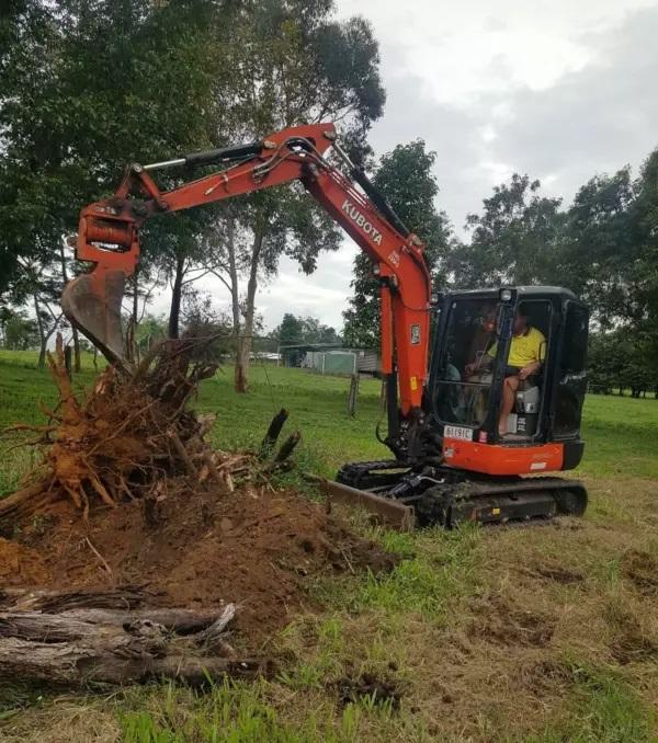 Hire 4.5T Excavator