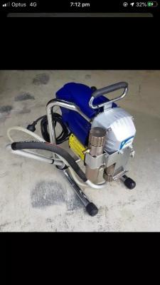 Hire Airless paint sprayer